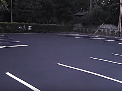 asphalt overlay for a parking lot